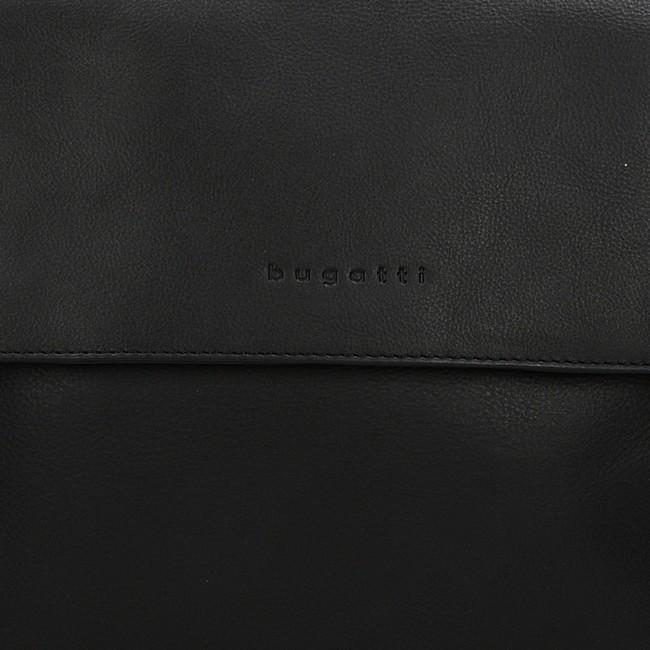 Bugatti pánska štýlová taška - čierna