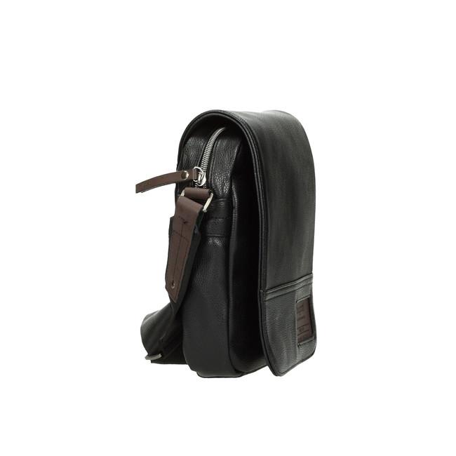 Bugatti pánska crossbody taška - čierna