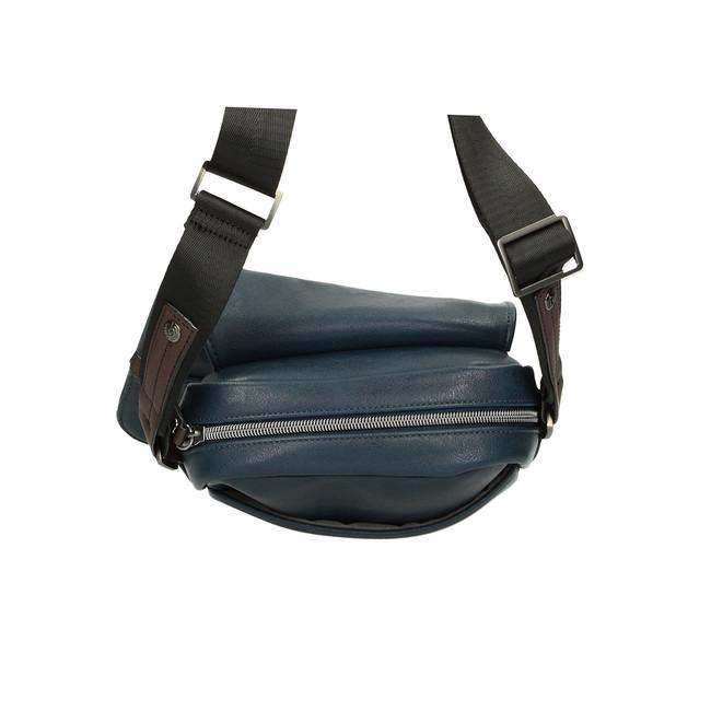 Bugatti pánska crossbody taška - modrá