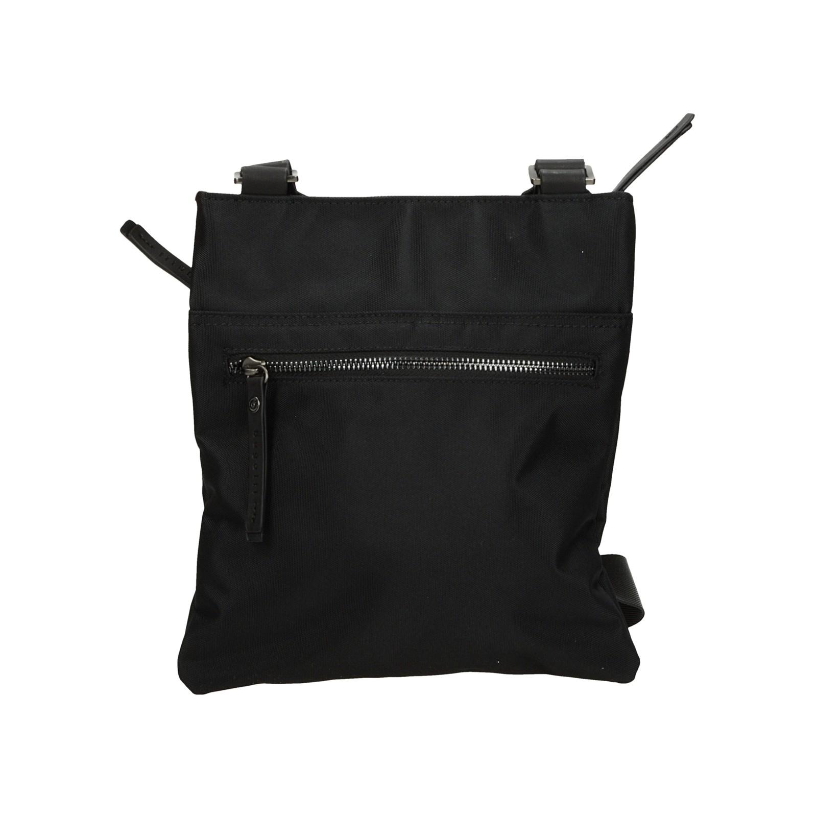 Bugatti pánska štýlová crossbody taška - čierna
