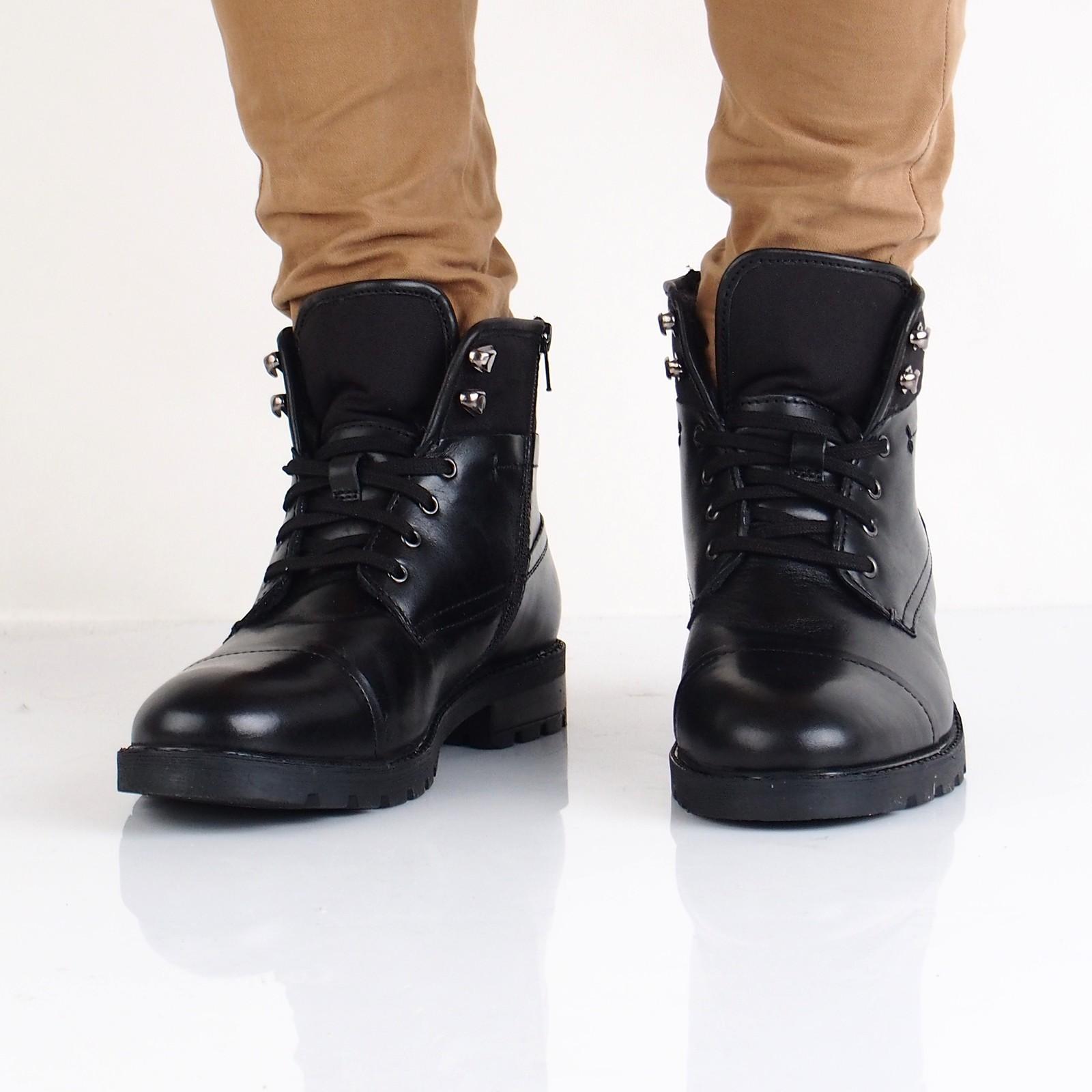 c5dc97a9c6 Robel pánska kožená členková obuv - čierna ...