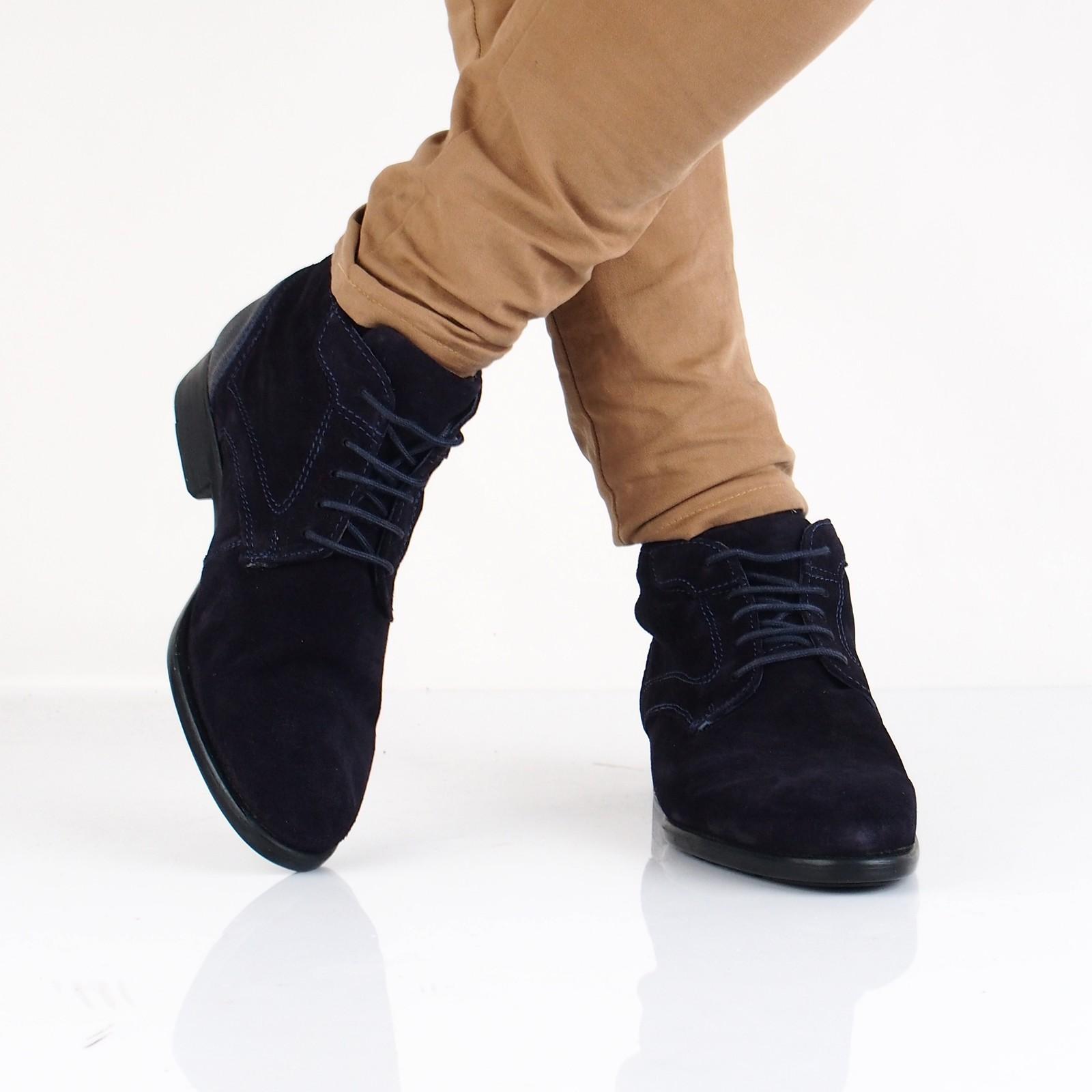 bfdd84059a70 Robel pánska semišová členková obuv - tmavomodrá ...