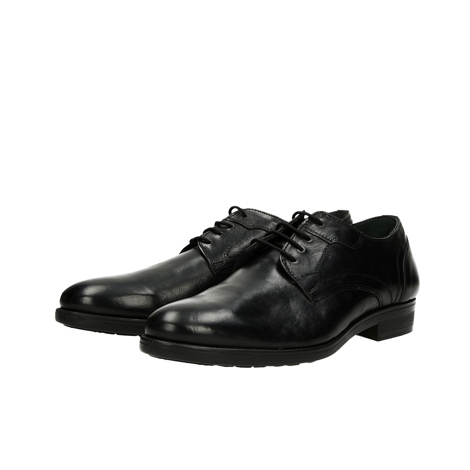 8f916f7ab2 Robel pánske kožené spoločenské topánky - čierne ...