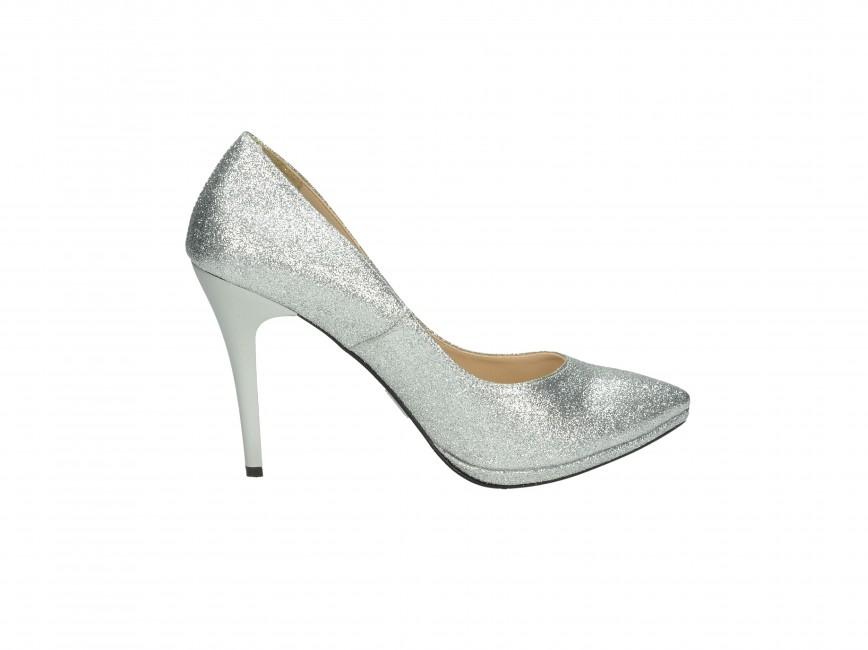 be18642e91 ... Olivia shoes dámske lodičky - strieborné ...