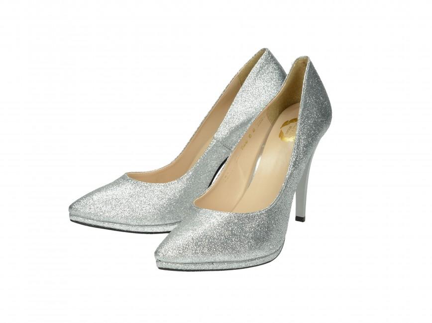 24e0e496de Olivia shoes dámske lodičky - strieborné Olivia shoes dámske lodičky -  strieborné ...
