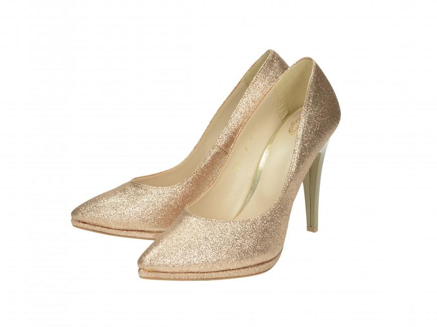 9dc02cbcf93c Olivia shoes dámske lodičky - zlaté ...