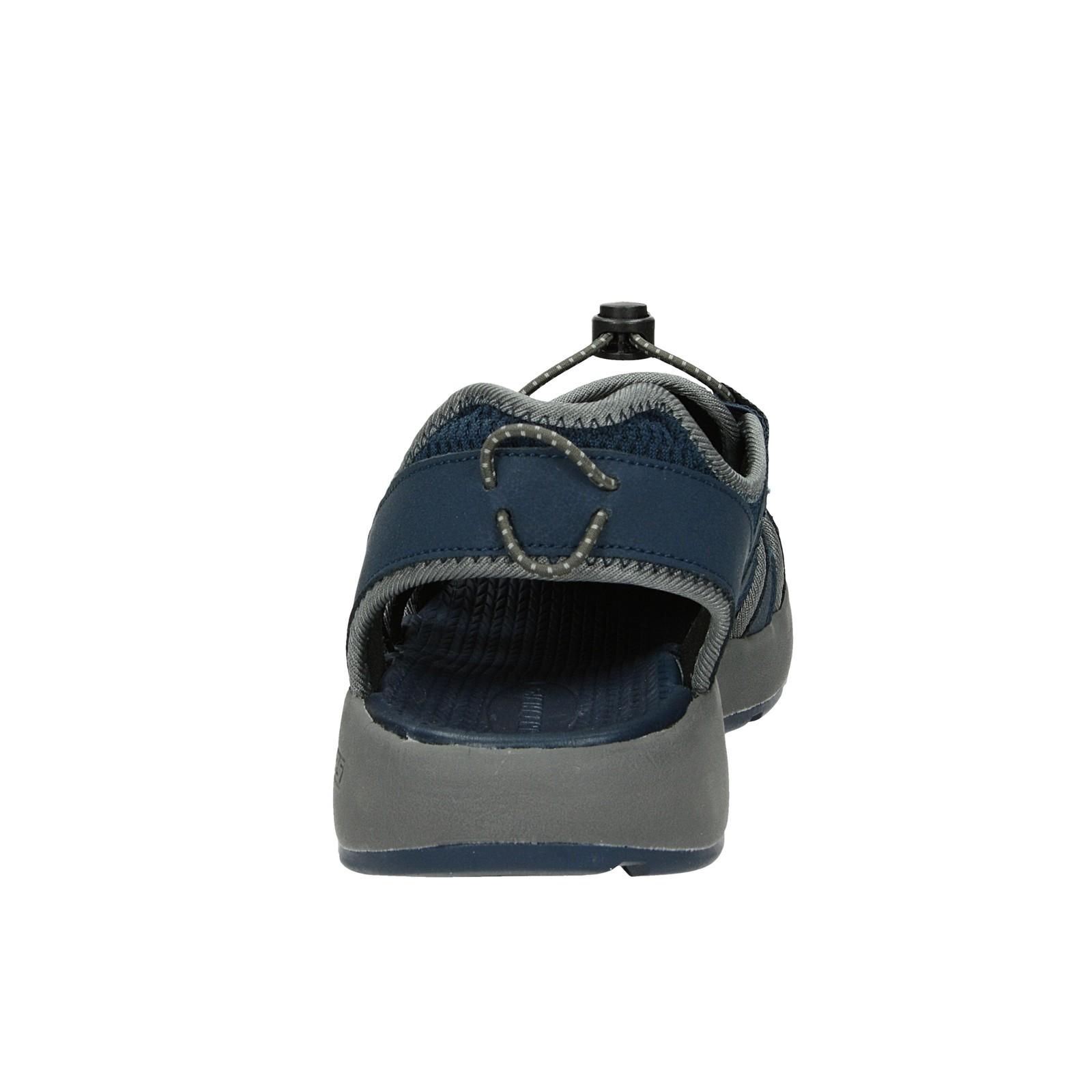 Skechers pánske pohodlné sandále - tmavomodré