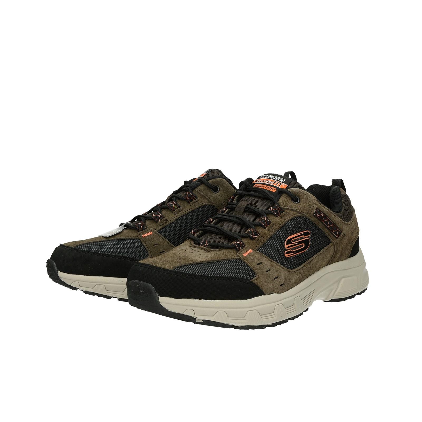 Skechers pánske štýlové tenisky - hnedé