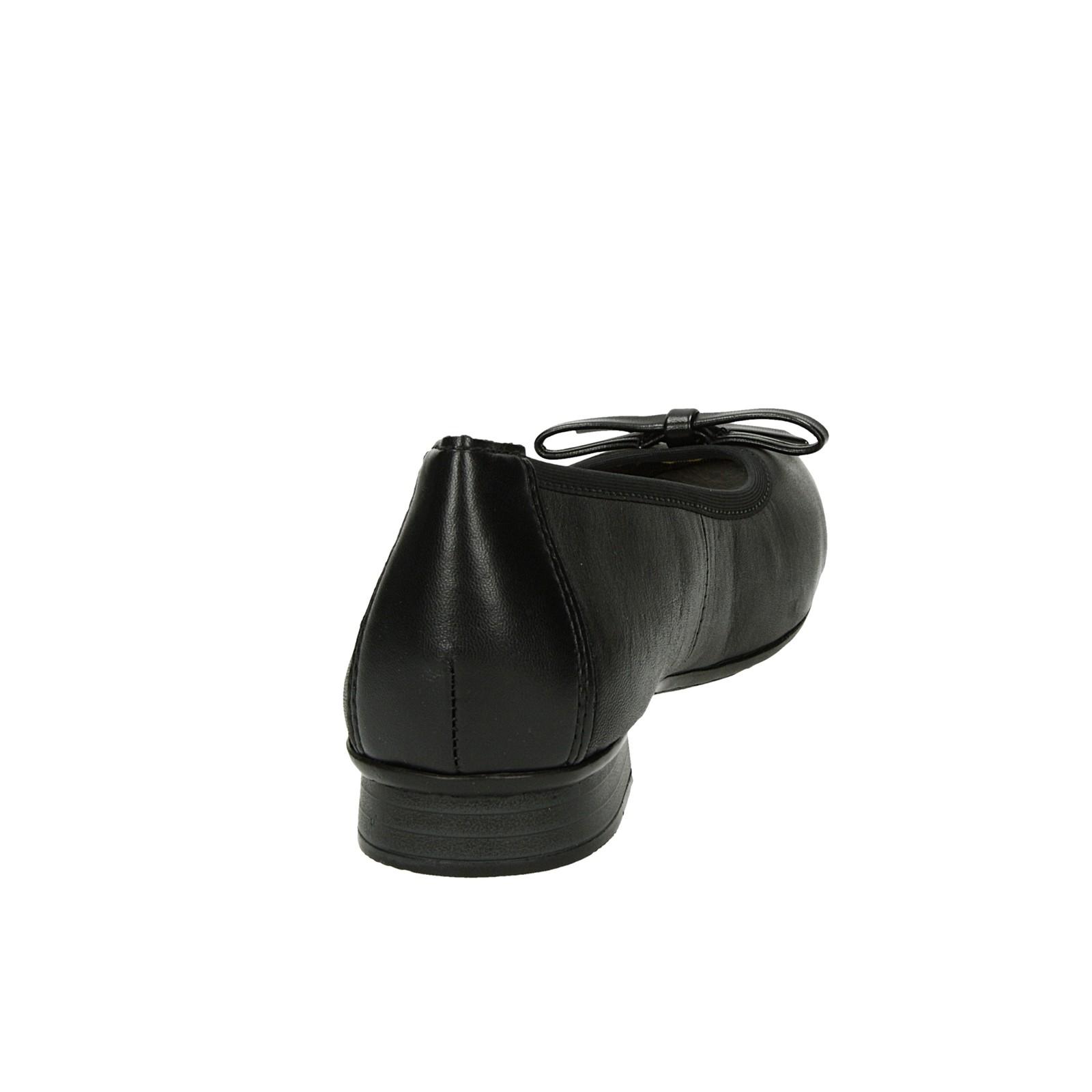 6efcf57e9fcc ... Rieker dámske pohodlné balerínky - čierne ...