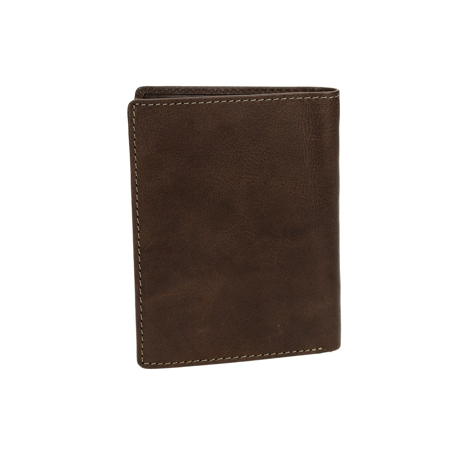 277f09b1b18d Metropoli pánska kožená peňaženka - tmavohnedá ...