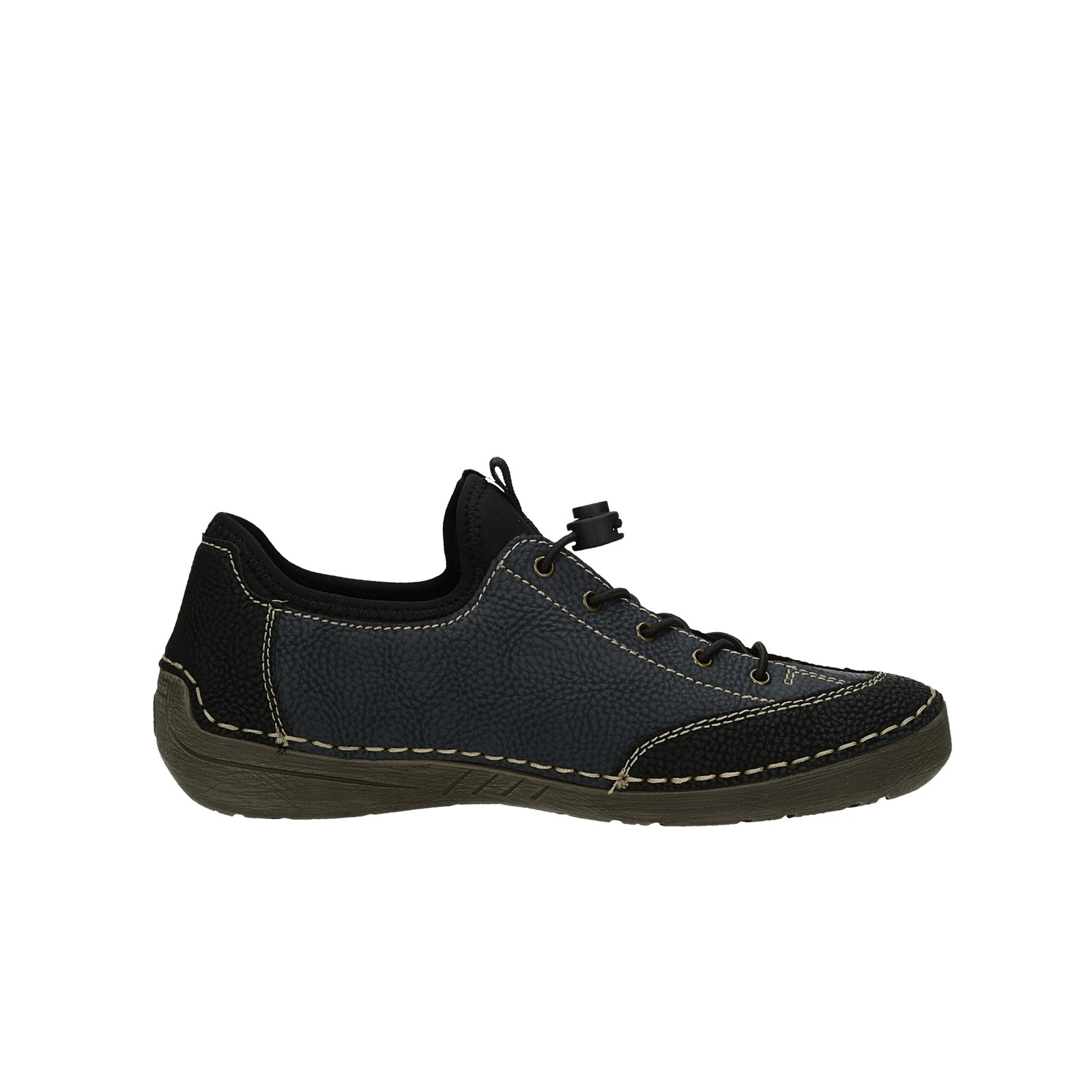 Rieker dámske štýlové tenisky - čierne