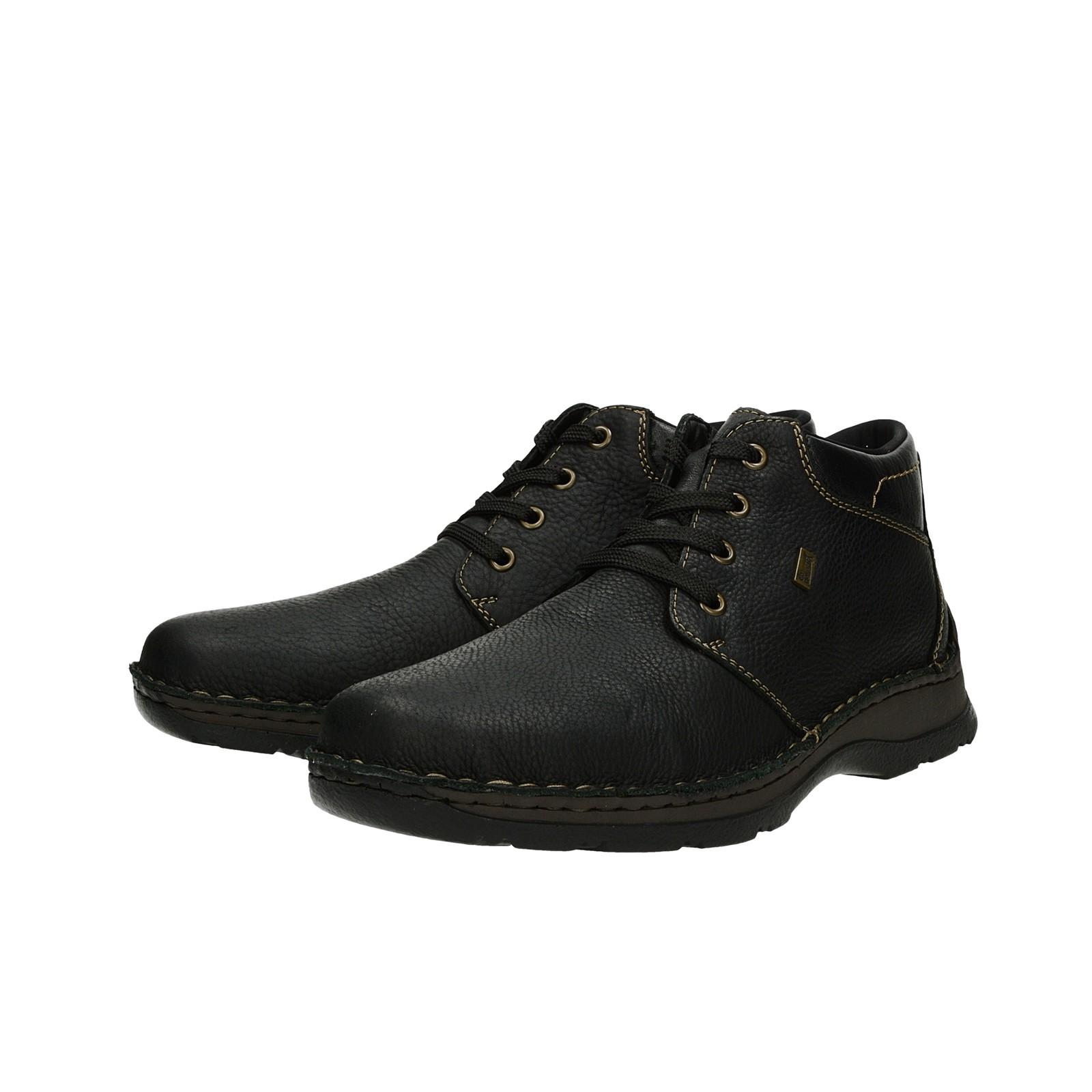 ... Rieker pánske zimné topánky - čierne ... a6dda8d5cf3