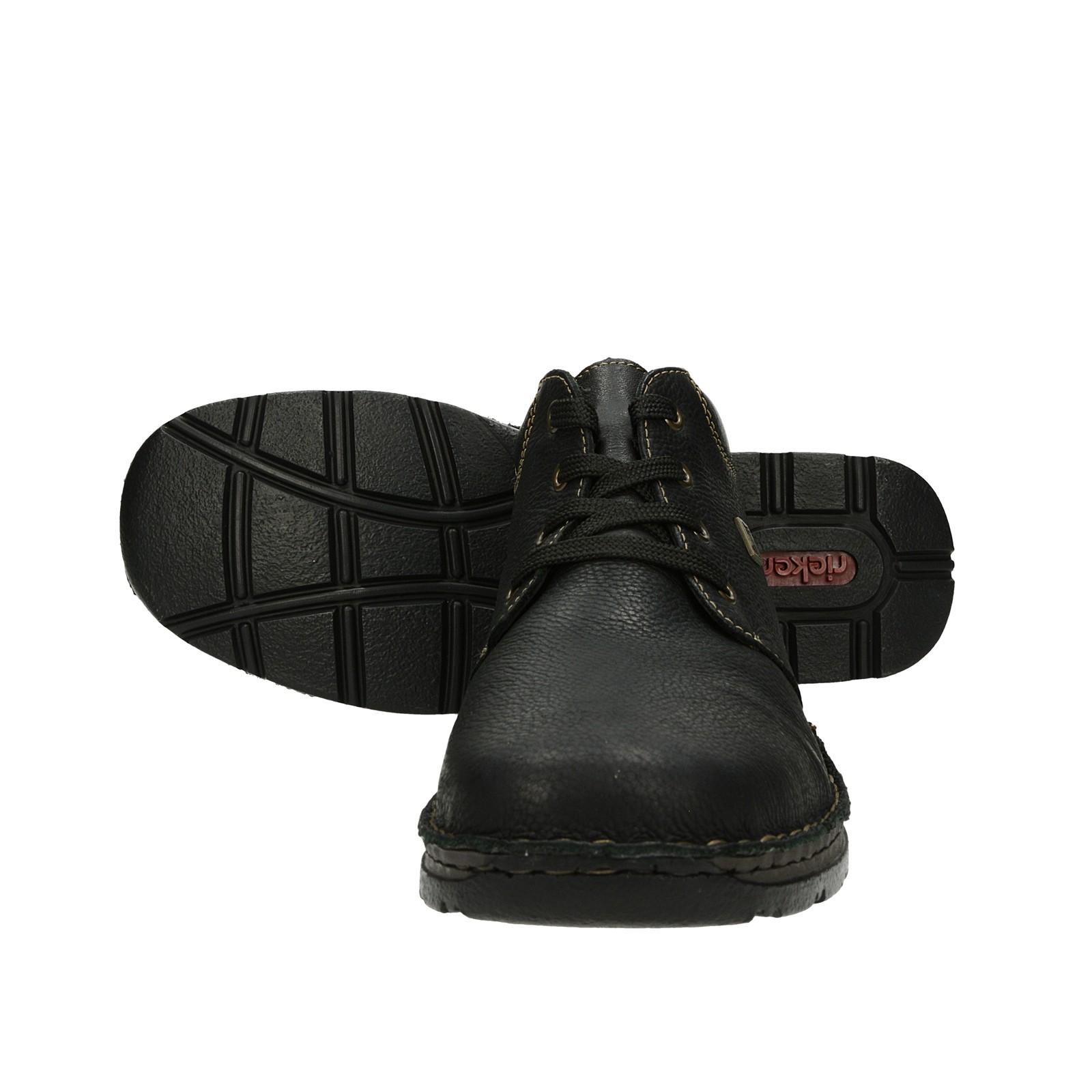 0104c62ccf ... Rieker pánske zimné topánky - čierne ...