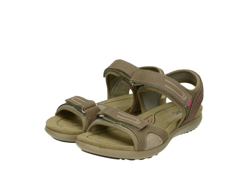 63db6cd3c494 Imac dámske kožené sandále - béžové ...