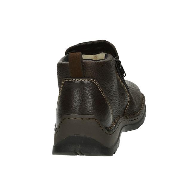 Rieker pánska praktická členková obuv - hnedá