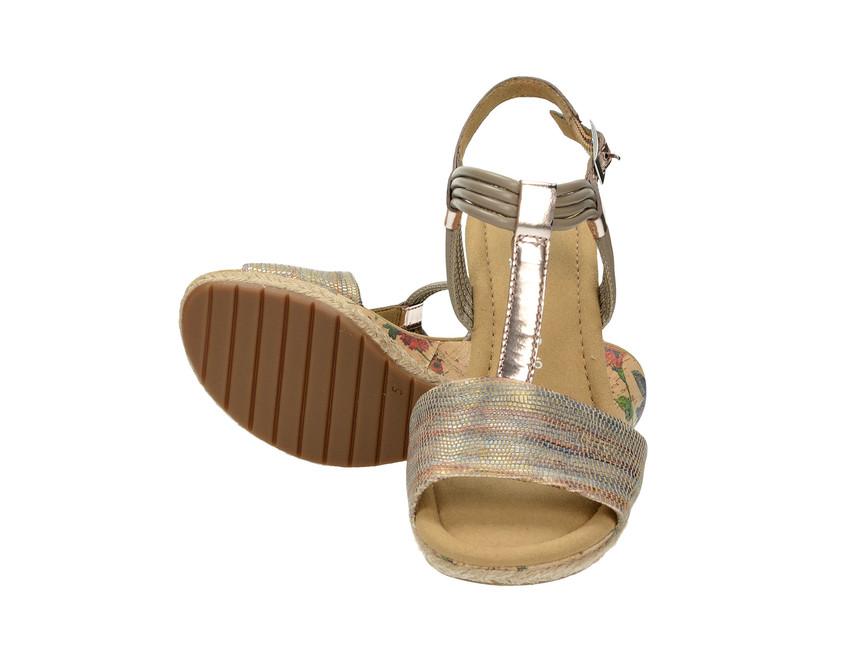 Gabor dámske štýlové sandále - béžové ... 342b27de90b