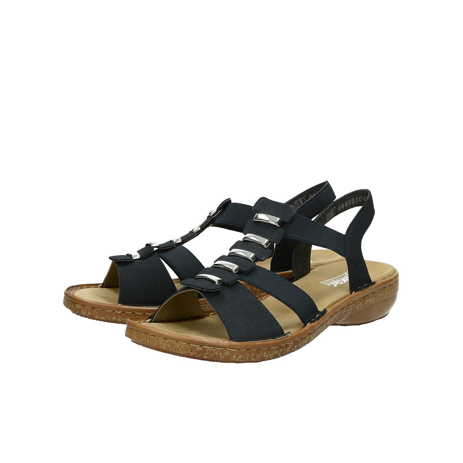 821a6d09ca66 Rieker dámske pohodlné sandále - tmavomodré ...