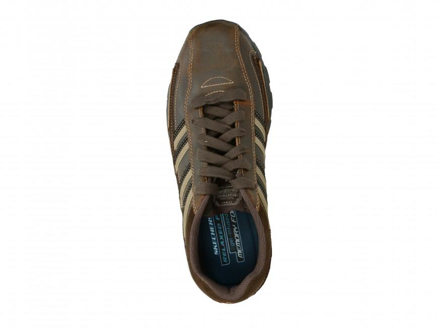 Skechers pánske tenisky - hnedé