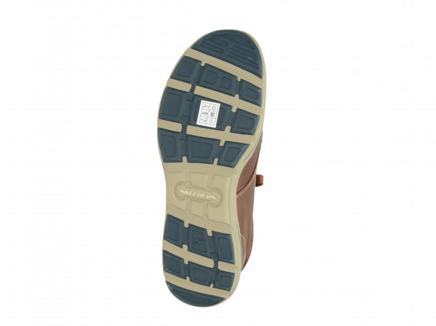 Skechers pánske kotníky - hnedé