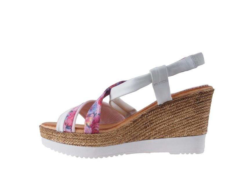 48f5a45e64d7 Marila dámske sandále - ružovobiele ...