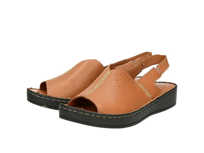 3048902106e0 Robel dámske praktické pohodlné sandále - hnedé ...