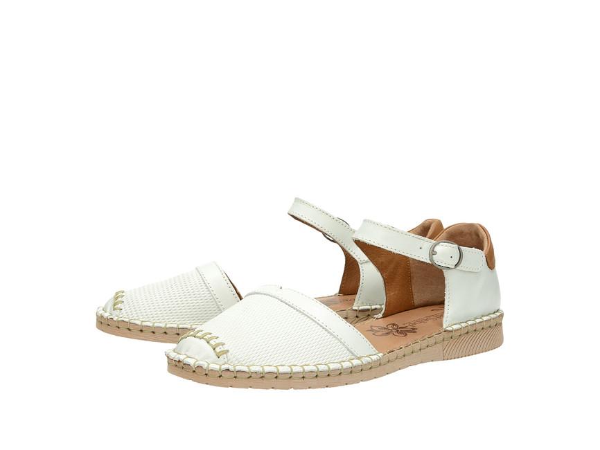 4b742c5b33e1 Josef Seibel dámske pohodlné sandále - biele ...