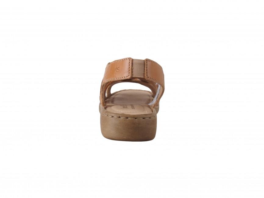 6f60bc0e9398 Josef Seibel dámske kožené sandále - hnedé ...