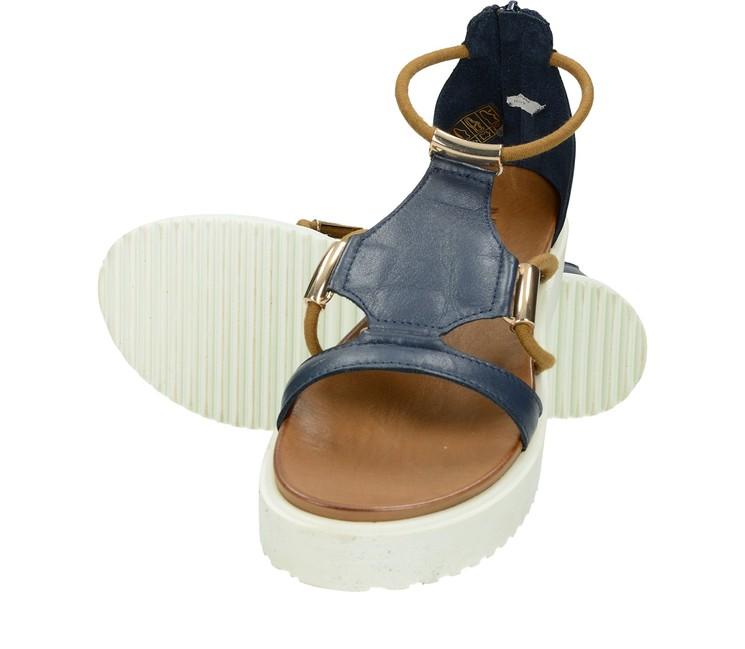 519a84e8cb ... Inuovo dámske štýlové sandále na platforme - modré