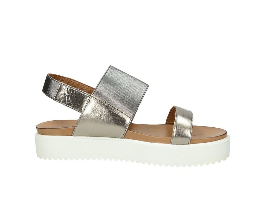 ... Inuovo dámske pohodlné sandále na platforme - zlaté ... 9abee1aac1f