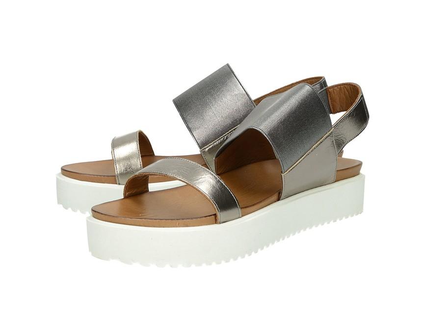 1c8167c337 Inuovo dámske pohodlné sandále na platforme - zlaté ...