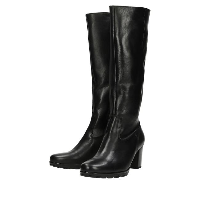 2208b12142e5 ... Gabor dámske módne čižmy - čierne ...