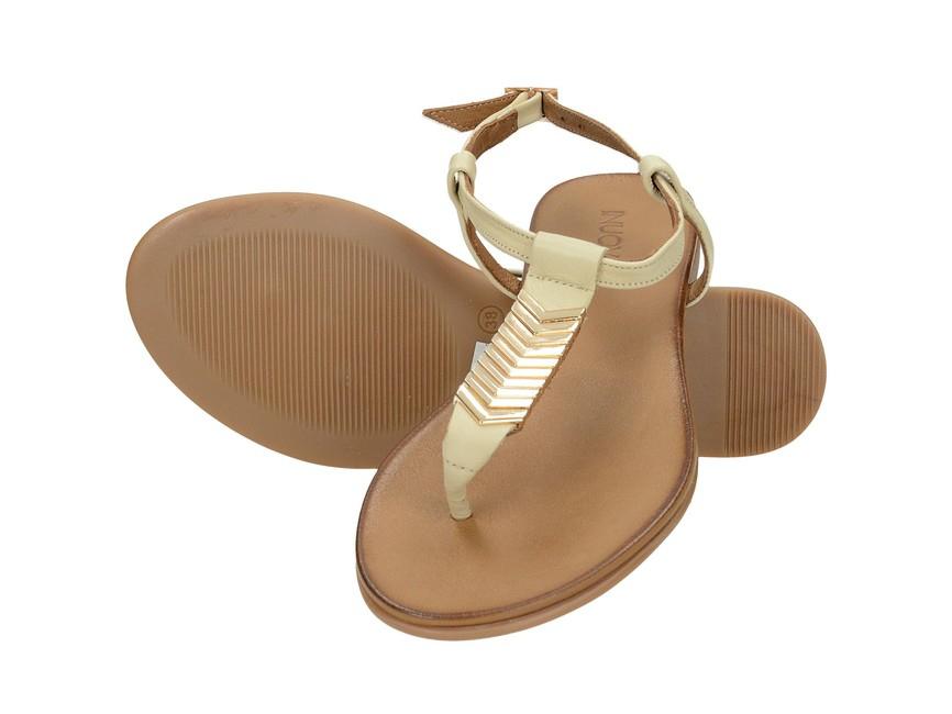 13490a4c3ba25 Inuovo dámske luxusné sandále - béžové | 7590-BEI www.robel.sk
