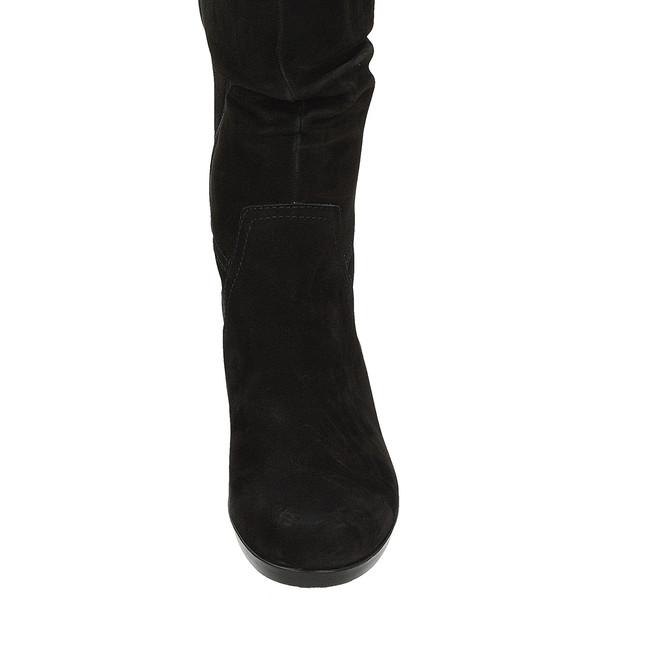 ... Gabor dámske zimné čižmy na podpätku- čierne ... ab78eb30eb