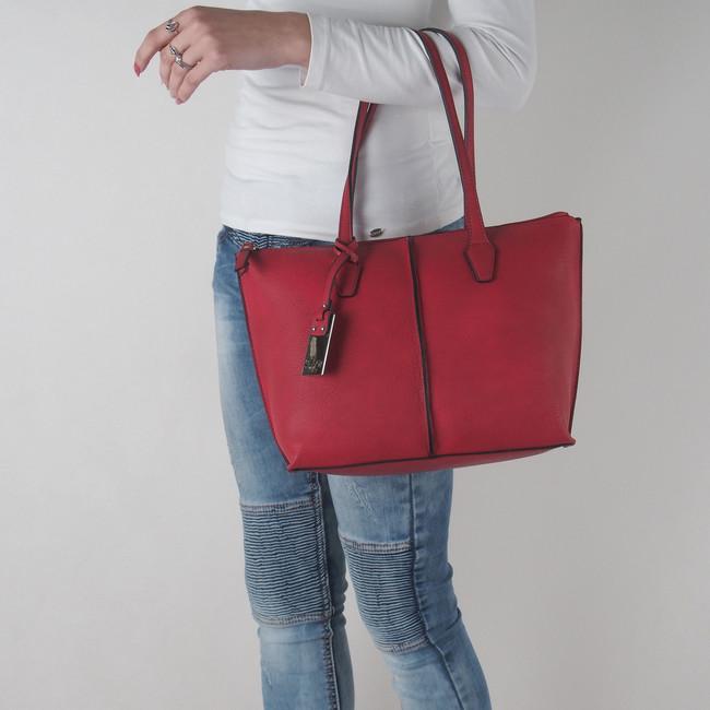 e11174b3ec ... Gabor dámska kabelka - červená ...