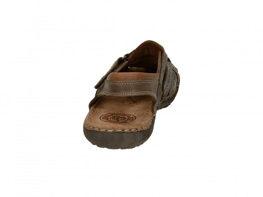 f44c6e0cc8e3 ... Girza pánske pohodlné sandále - hnedé ...