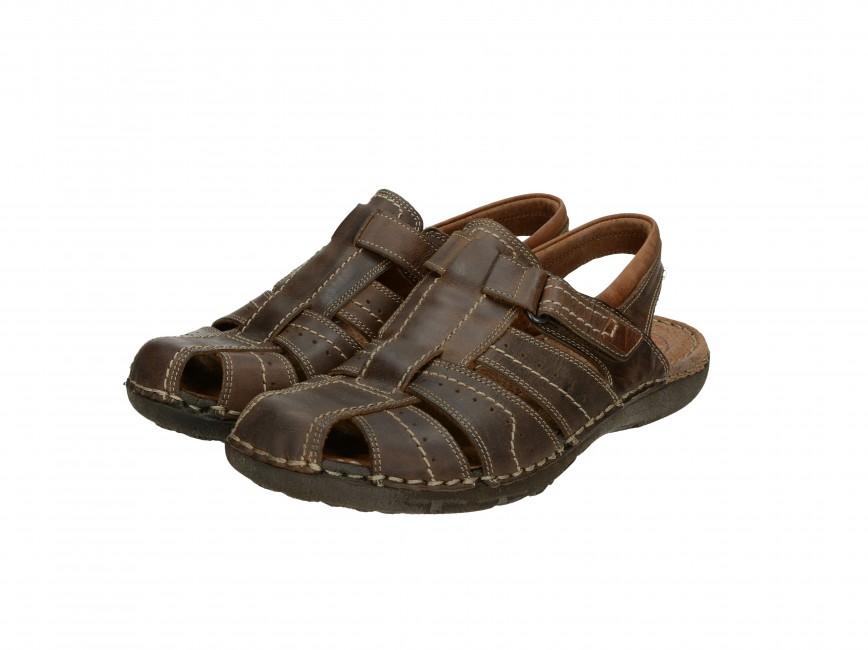 8fd590446915 Girza pánske pohodlné sandále - hnedé ...