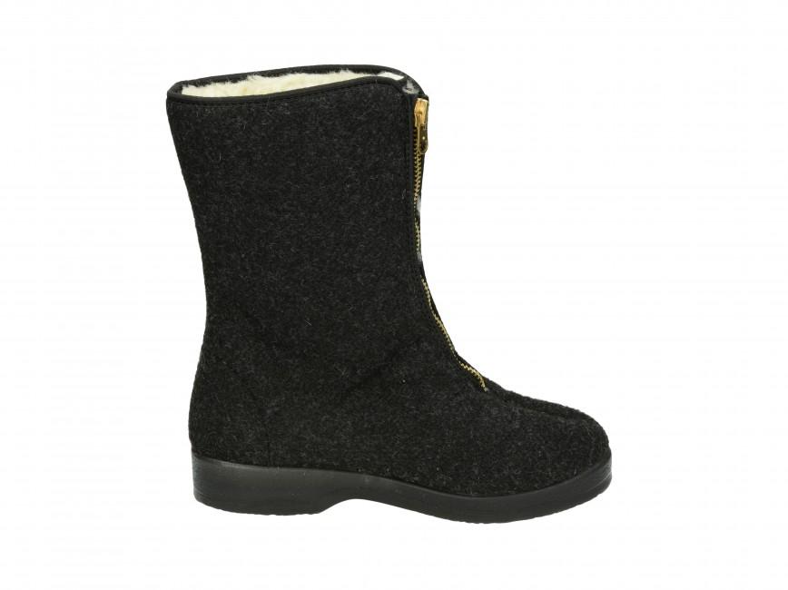 Mjartan dámska domáca obuv - čierna