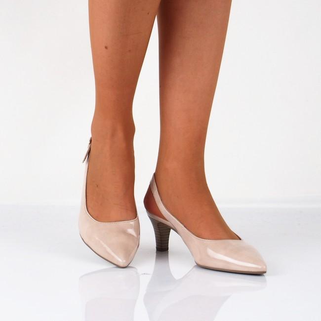 ace1ff365e5b3 Gabor dámske lakované sandále - béžové   21.550.72-SAND www.robel.sk