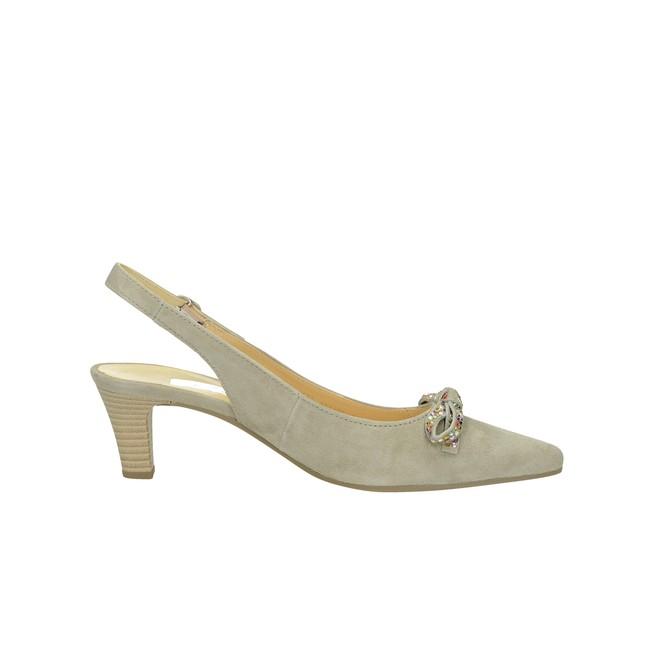 Gabor dámske semišové sandále s remienkom - béžové ... 55cc51f6080