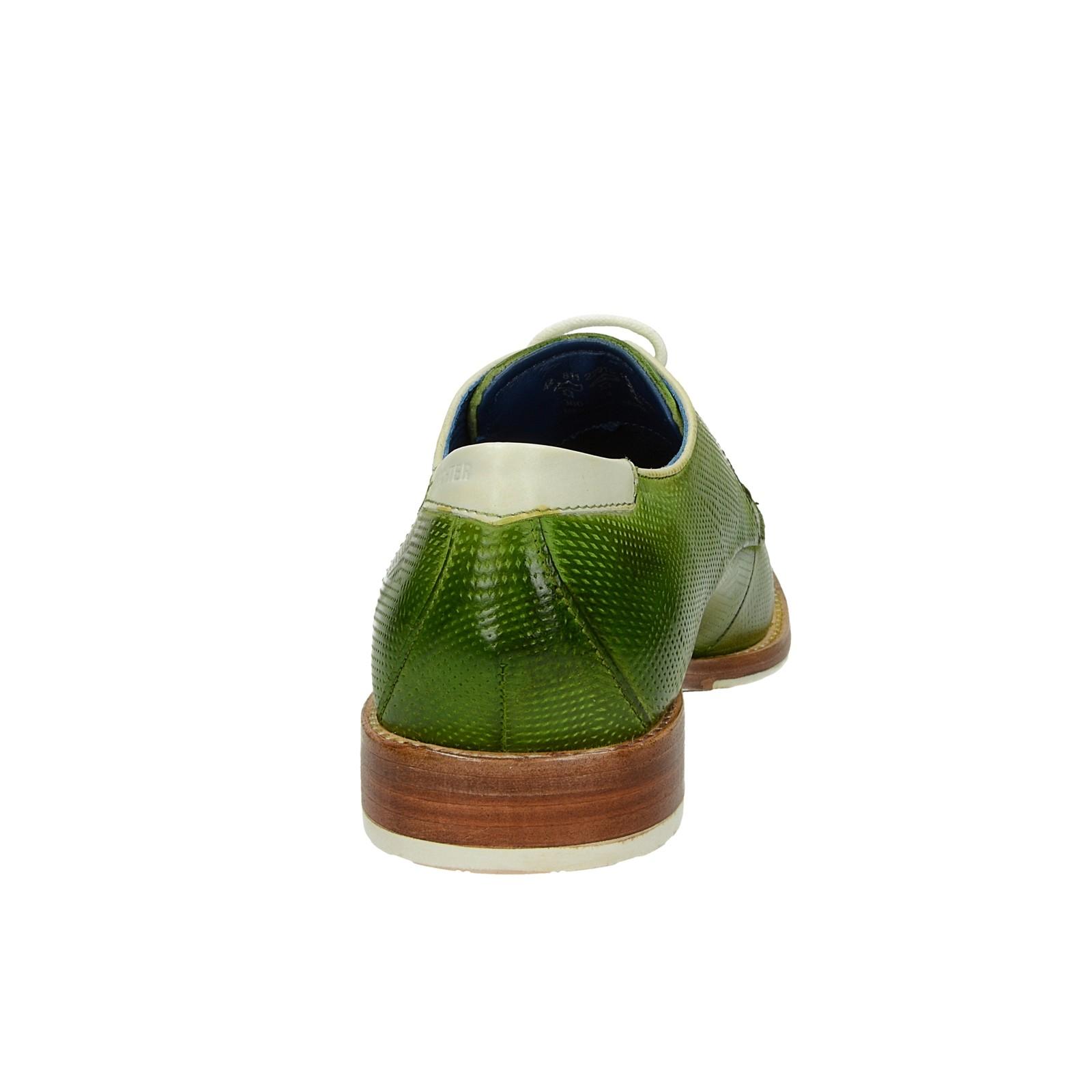 4b74f83ccf11 ... Daniel Hechter pánske kožené štýlové topánky - zelené ...