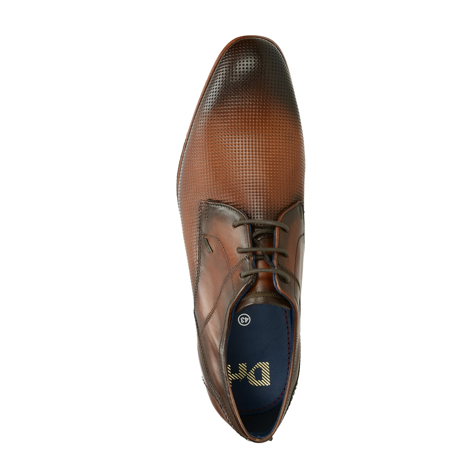 9a55eceef9f1 Daniel Hechter pánske spoločenské kožené topánky - koňakové ...