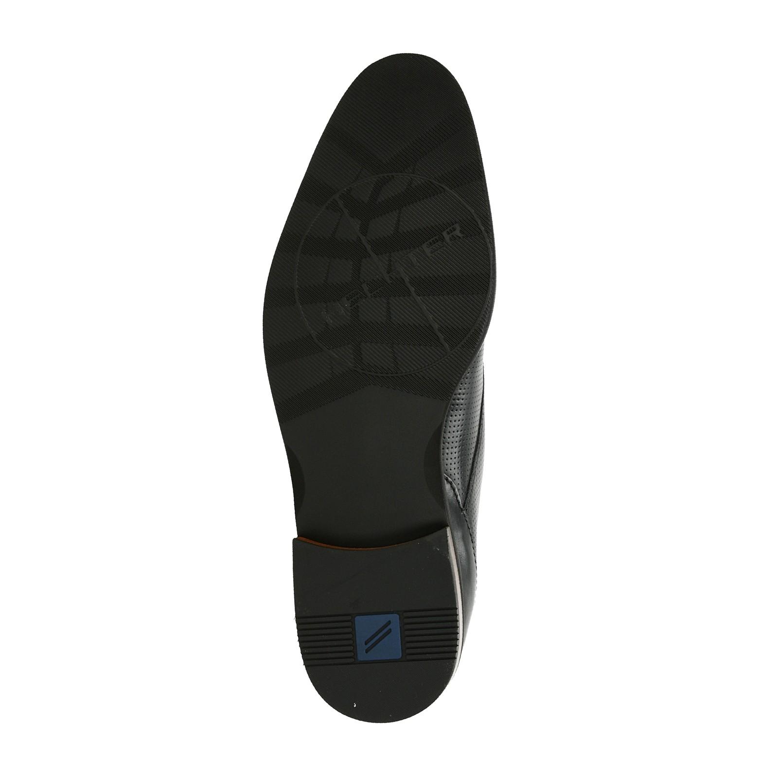 27206d1ced62 ... Daniel Hechter pánske kožené spoločenské topánky - čierne ...