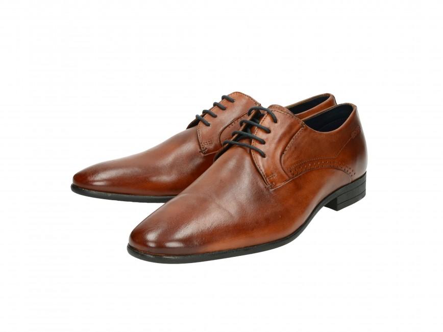 ... Daniel Hechter pánske spoločenské topánky - hnedé ... b5560148c93