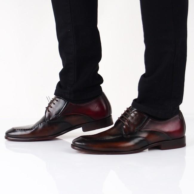 ... Daniel Hechter pánske kožené topánky - hnedé ... 5e75e6c5315