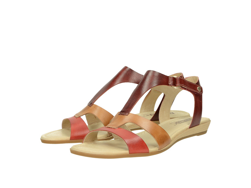 6a13f6fc06524 Pikolinos dámske komfortné sandále - multicolor | 8160752-CORAL www ...