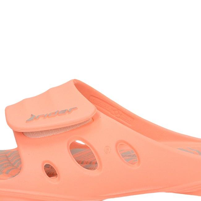 0f8e75122eb1 ... Rider dámske štýlové šľapky na suchý zips - oranžové ...