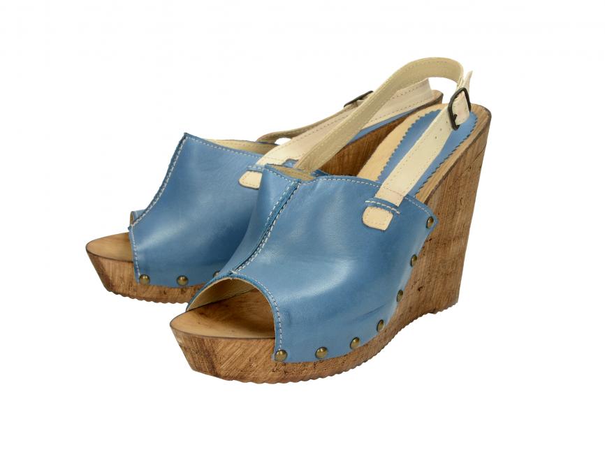 3b0c0fbfa893 Acord dámske sandále - modré ...