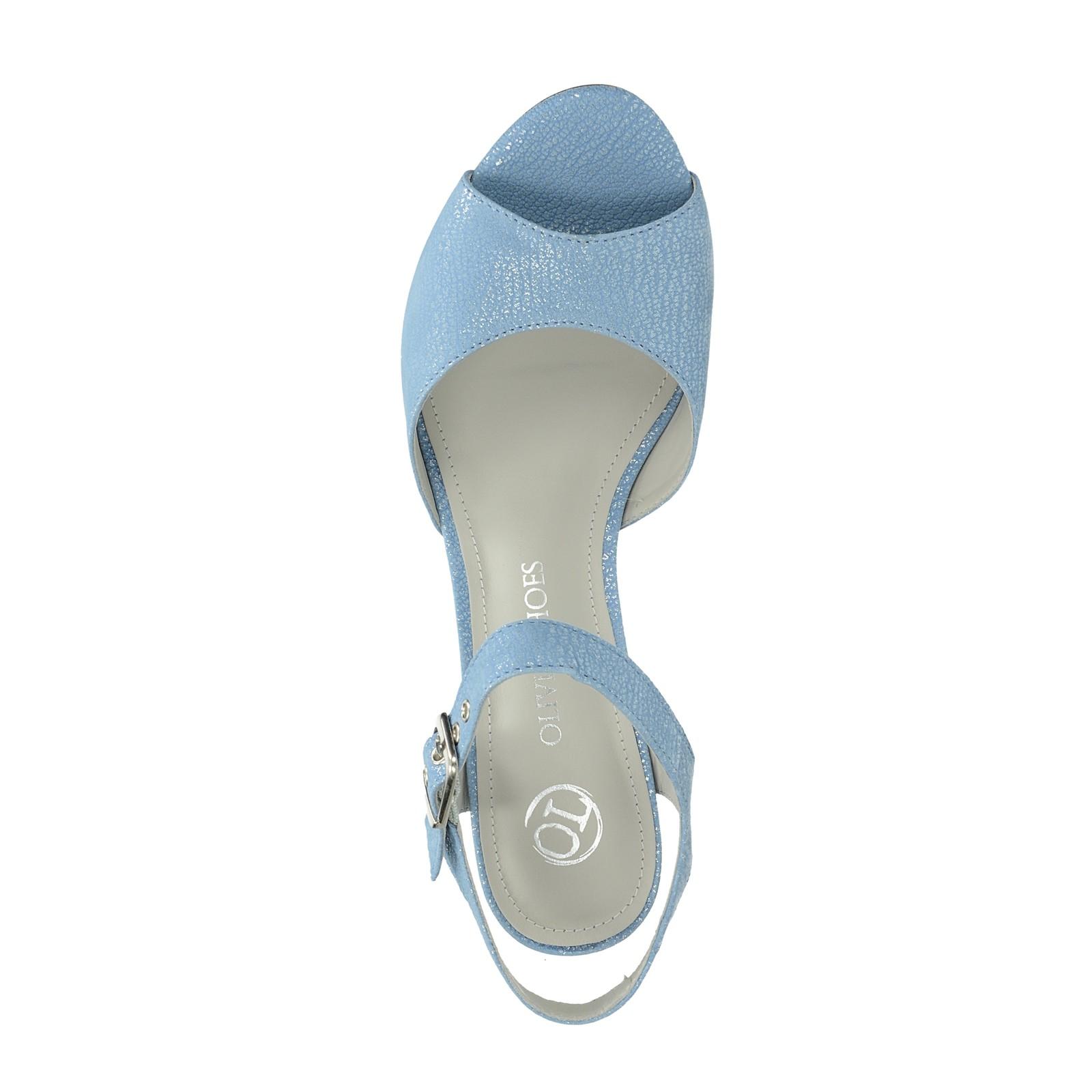 743f12c4e3f7 Olivia shoes dámske štýlové sandále s remienkom - modré ...