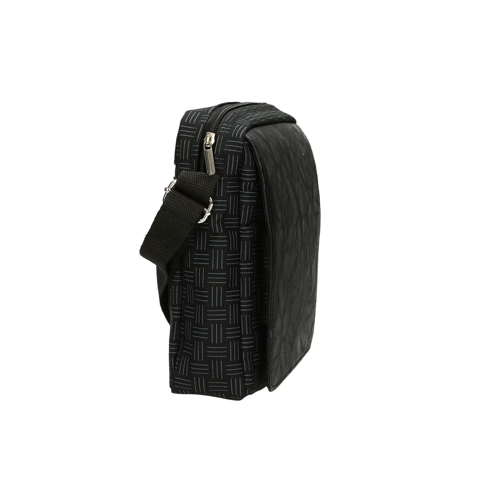 Mercucio dámska crossbody kabelka - čierna
