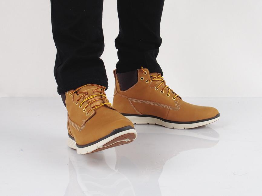 Timberland pánska štýlová členková obuv - koňaková ... 45ec76f5a50